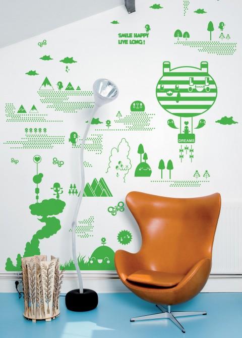 Flora and fauna 2 green
