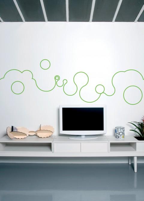 Bubble line lime