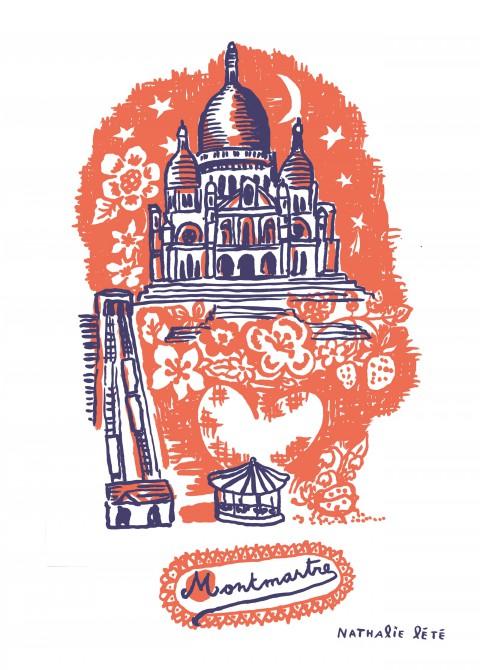 Montmartre orange