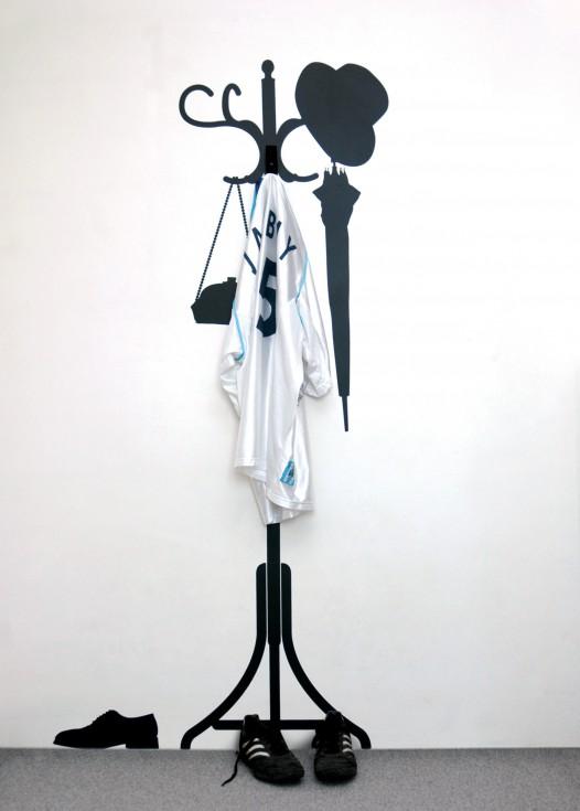 Vinyl + hanger