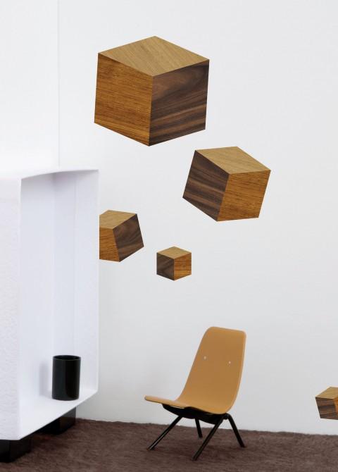 Touche du bois / cubes