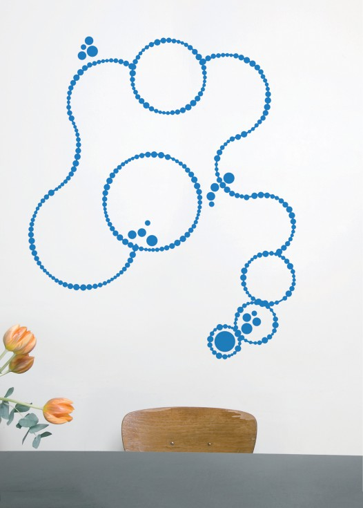 Dotline blue